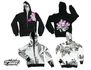 DMSK MIKINA MASTERS OF DIRT Reversible TRIPLE BUNNY