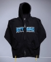 PNSK MIKINA S KAPUC STAY STRONG  dmc zip hood blck/tl