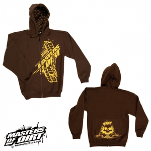 PNSK MIKINA MASTERS OF DIRT MoD 4 Life Brown