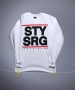 PNSK TRIKO S DLOUHM RUKVEMSTAY STRONG dmc longsleeve wht